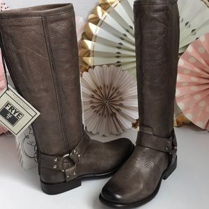 NEW Frye Phillip Harness Tall Boots 👢
